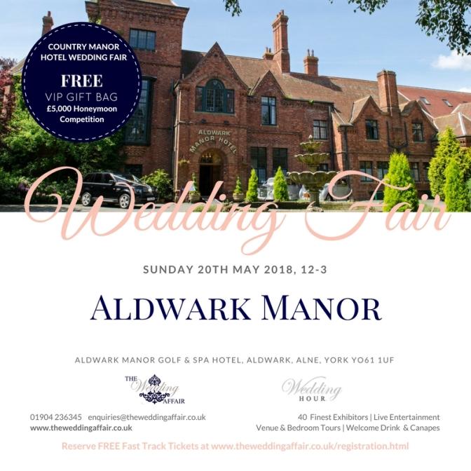Aldwark Manor May 2018